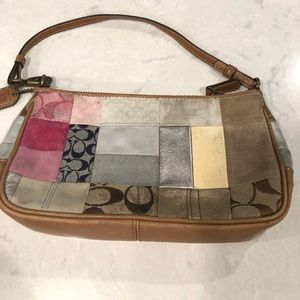 Coach patchwork small purse